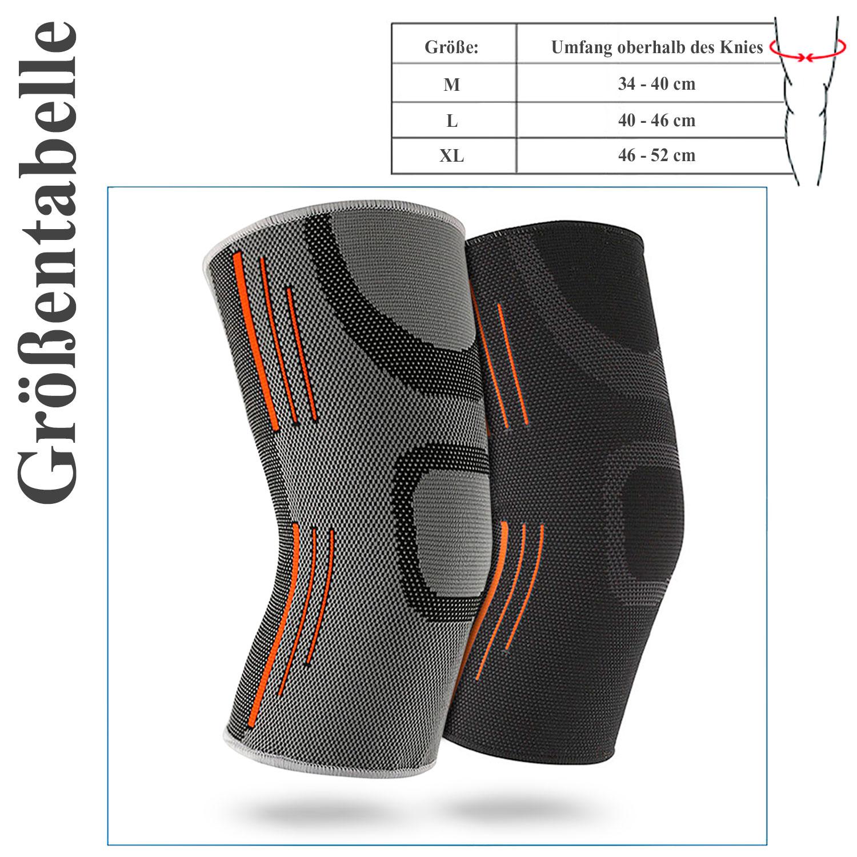 Kniebandage Kniestütze Kniegelenk Verband Knieschoner Sport Bandage Knie Schutz